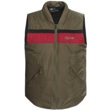 FlyLow TC Vest - Insulated (For Men and Women) in Tarmac/Red/Black - Closeouts