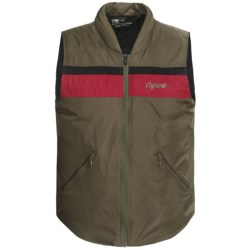 FlyLow TC Vest - Insulated (For Men and Women) in Tarmac/Red/Black