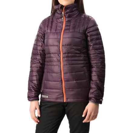Flylow Tess Down Jacket - 800 Fill Power (For Women) in Plum - Closeouts