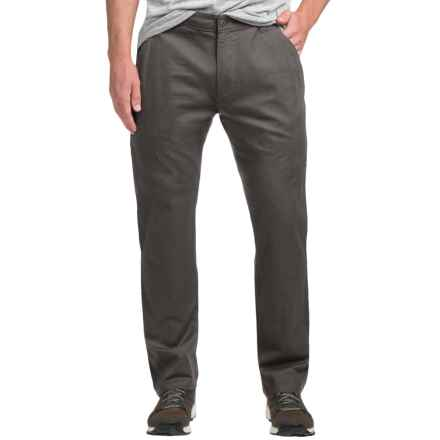 Flylow Wallace Chino Pants - Cotton Blend (For Men) in Coal - Closeouts