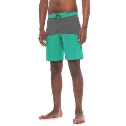 Flylow Waylon Boardshorts - UPF 40+ (For Men) in Plankton/Coal - Closeouts