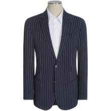 Flynt Babbitt Wide Stripe Sport Coat (For Men) in Navy - Closeouts