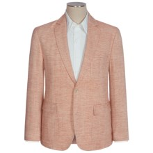 Flynt Bond Cotton-Linen Herringbone Sport Coat (For Men) in Orange/Cream - Closeouts