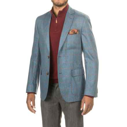 Flynt Bond Sport Coat - Silk (For Men) in Blue - Closeouts