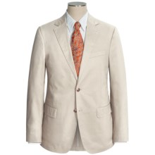 Flynt Solid Cotton Suit (For Men) in Bone - Closeouts