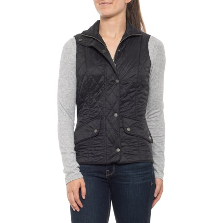 Flyweight Cavalry Quilted Vest - Insulated (For Women) - BLACK (10 )