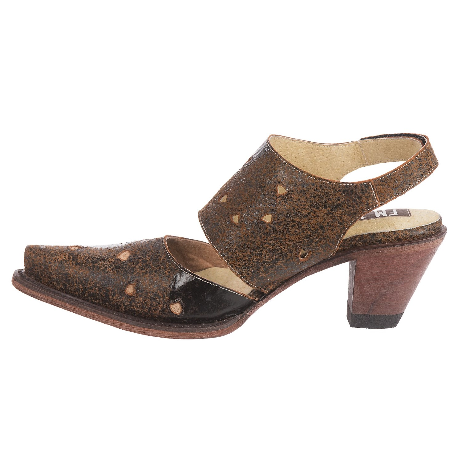 FM 1101 Sunny Heeled Mary Jane Shoes (For Women)