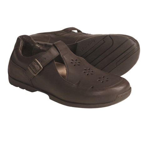Footprints by Birkenstock Beverley Shoes - Mary Janes, Leather (For Women) in Black