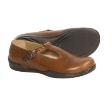 Footprints by Birkenstock Casablanca Shoes - Leather (For Women) in Tabacco W/Mesh - Closeouts