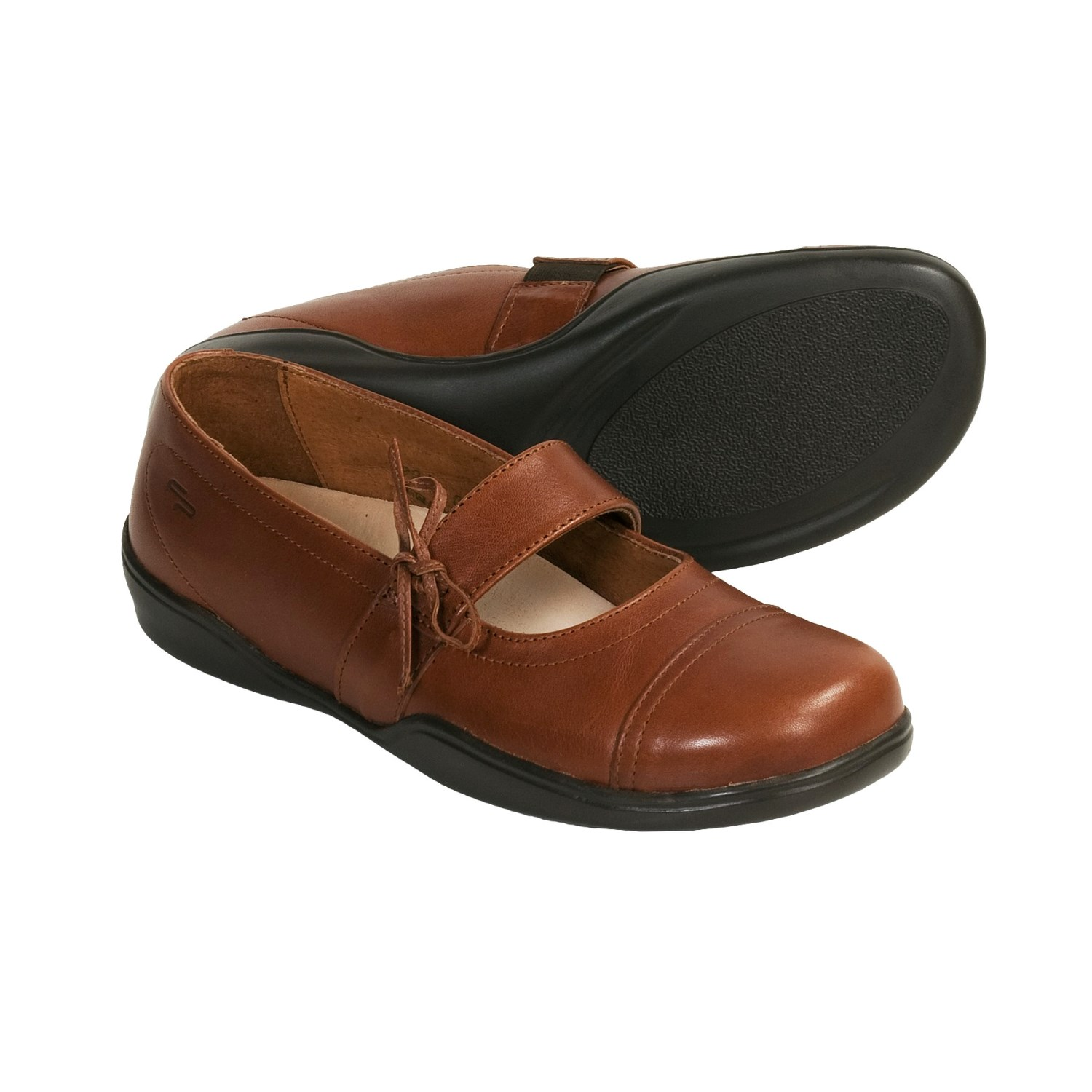by Birkenstock Latina Mary Jane Shoes - Leather (For Women) in Marone