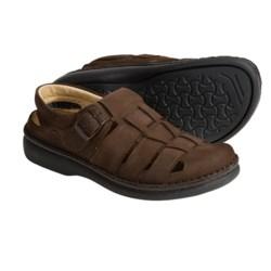 Footprints by Birkenstock Merced Sandals (For Men and Women) in Mocha Emsossed