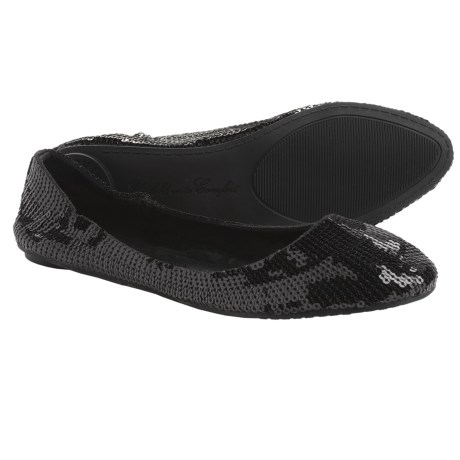 Footzyfolds Spark Burst Shoes - Slip-Ons (For Women) in Black