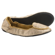 Footzyfolds Sugar Shoes - Slip-Ons (For Women) in Gold - Closeouts