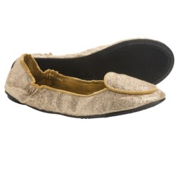 Footzyfolds Sugar Shoes - Slip-Ons (For Women) in Gold