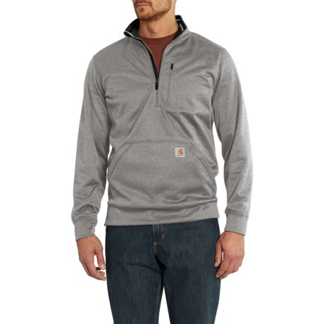 Force Extremes(R) Mock Neck Sweatshirt - Zip Neck (For Men)