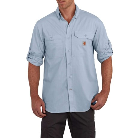 Force(R) Ridgefield Solid Shirt - Long Sleeve, Factory Seconds (For Men)