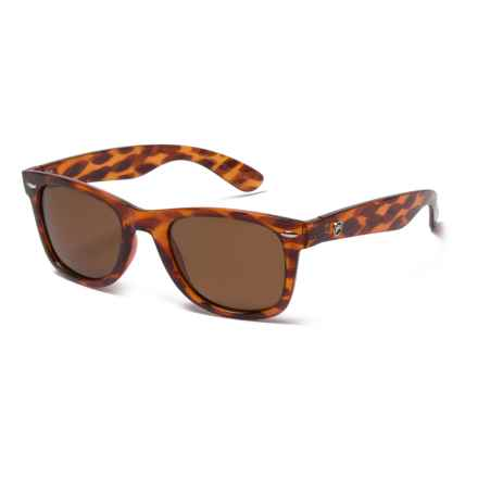 Forecast Optics Ziggie Sunglasses - Polarized in Tortoise/Brown - Closeouts