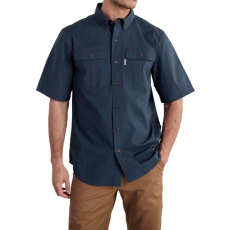 Foreman Solid Work Shirt - Short Sleeve (For Men)