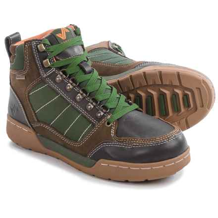 Forsake 2015 Hiker High-Top Shoes - Waterproof (For Men) in Brown/Green - Closeouts