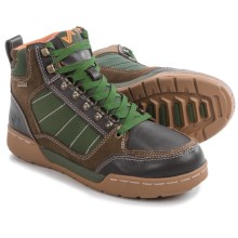Forsake Hiker High-Top Shoes - Waterproof (For Men) in Brown/Green - Closeouts