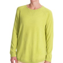 Forte Cashmere Cashmere Oversized Sweatshirt (For Women) in Bartlett - Closeouts