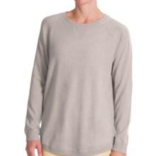 Forte Cashmere Cashmere Oversized Sweatshirt (For Women) in Birch - Closeouts