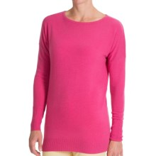 Forte Cashmere Dolman-Style Sweater (For Women) in Beach Rose - Closeouts