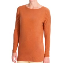 Forte Cashmere Dolman-Style Sweater (For Women) in Clementine - Closeouts