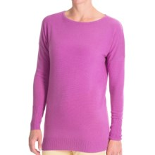 Forte Cashmere Dolman-Style Sweater (For Women) in Orchid - Closeouts