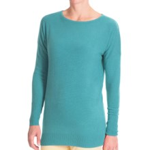 Forte Cashmere Dolman-Style Sweater (For Women) in Turtle - Closeouts