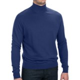 Forte Cashmere Silk Blend Sweater - Mock Neck (For Men)