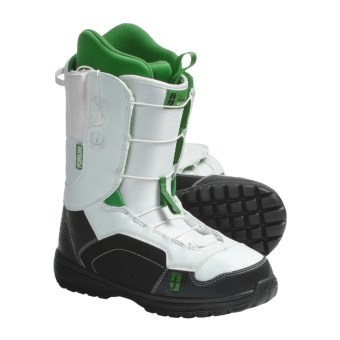 Forum Antenna Snowboard Boots (For Men) in Thats White
