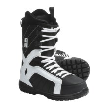 Forum Fastplant Snowboard Boots (For Men) in White/Black - Closeouts