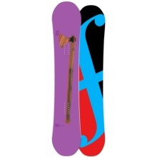 Forum Holy Moly II Snowboard in 158 Graphic/Turquoise Bottom - Closeouts