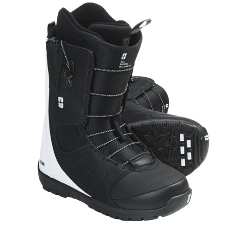 Forum Musket Snowboard Boots (For Men) in White Blue Up