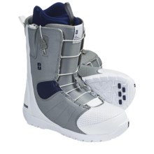 Forum Musket Snowboard Boots (For Men) in White Blue Up - Closeouts