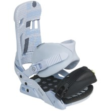Forum Shaka Snowboard Bindings in Blue Monday - Closeouts