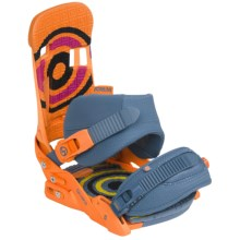 Forum Shaka Snowboard Bindings in Manchester Sun - Closeouts