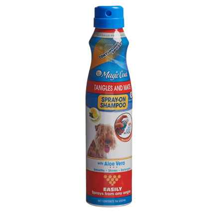 Four Paws Magic Coat Tangles and Mats Spray-On Dog Shampoo - 7 fl.oz. in Lemon Mint - Closeouts