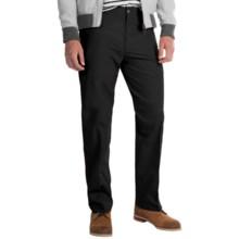 Four-Pocket Cotton Blend Pants (For Men) in Black - 2nds