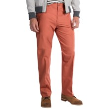 Four-Pocket Cotton Blend Pants (For Men) in Coral - 2nds