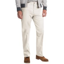 Four-Pocket Cotton Blend Pants (For Men) in White - 2nds