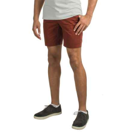 Four-Pocket Cotton Shorts (For Men) in Brick - 2nds