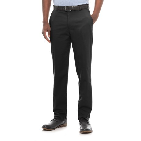 Four-Pocket Solid Stretch-Woven Pants (For Men)