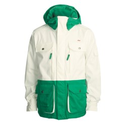 Foursquare Adams Shell Jacket (For Men) in Mont Blanc