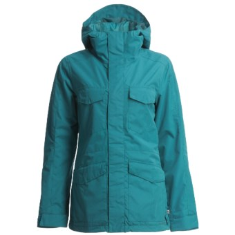 Foursquare Artisan Jacket (For Women) in Blue Book