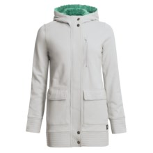 Foursquare Awning Hooded Jacket (For Women) in Granite - Closeouts