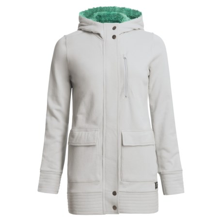 Foursquare Awning Hooded Jacket (For Women) in Granite