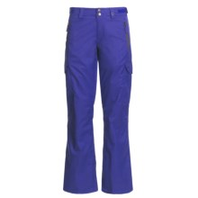 Foursquare Bevel Snow Pants - Waterproof, Insulated (For Women) in Ink - Closeouts