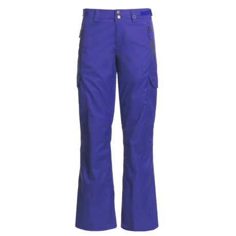 Foursquare Bevel Snow Pants - Waterproof, Insulated (For Women) in Ink
